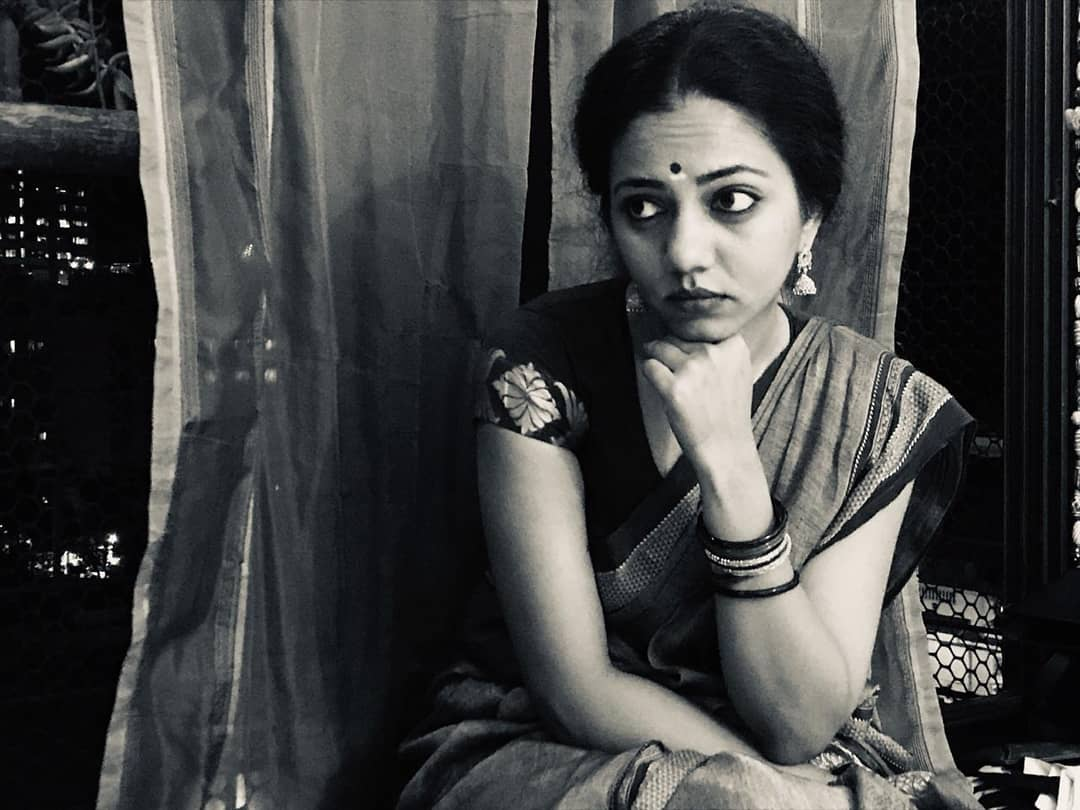 Neha Joshi black and white pic