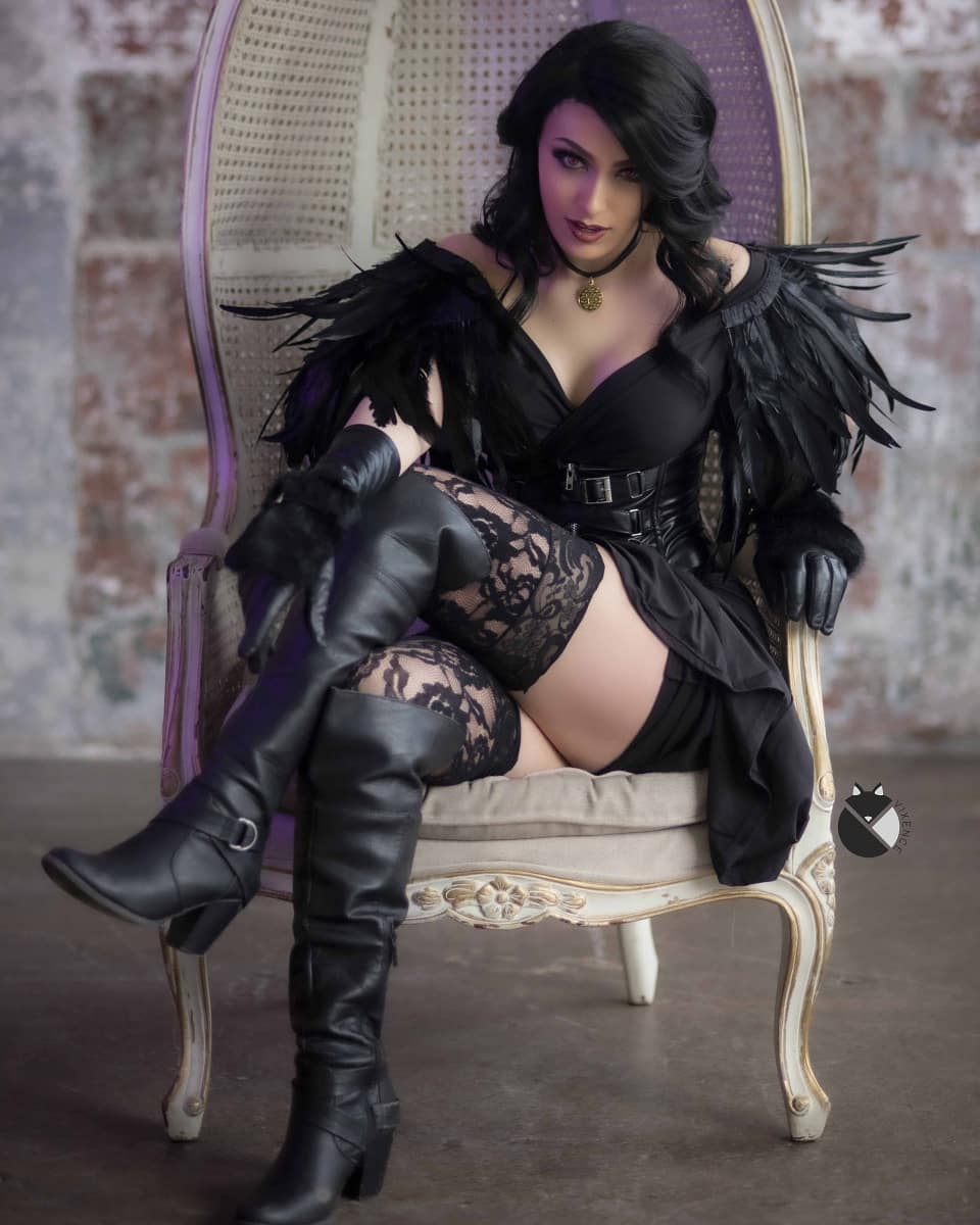 Yennefer cosplay by vixencecos