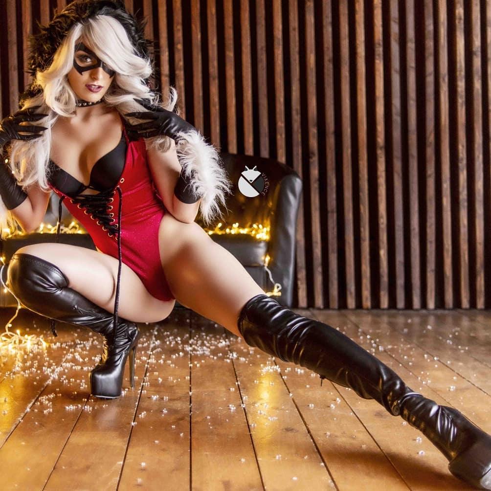 Blackcat cosplay by vixencecos