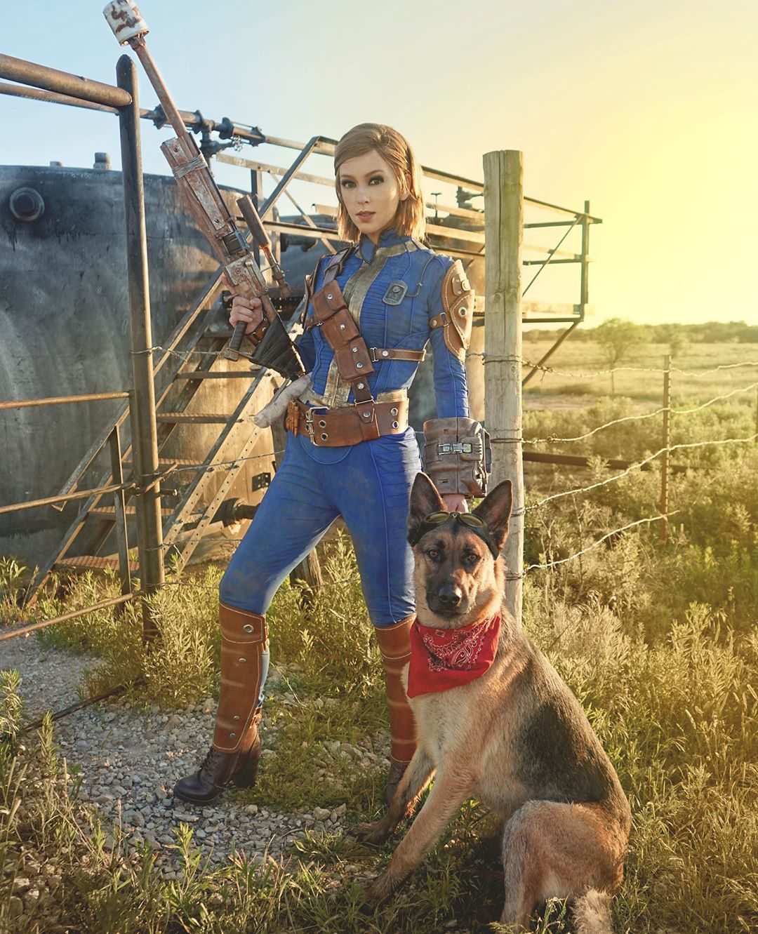 Fallout 4 sole survivor  cosplay by April Gloria