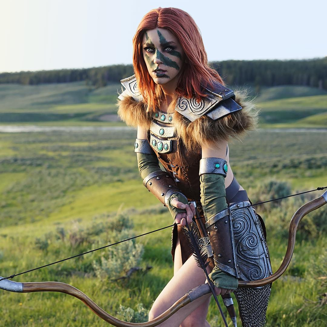 aela cosplay by April Gloria