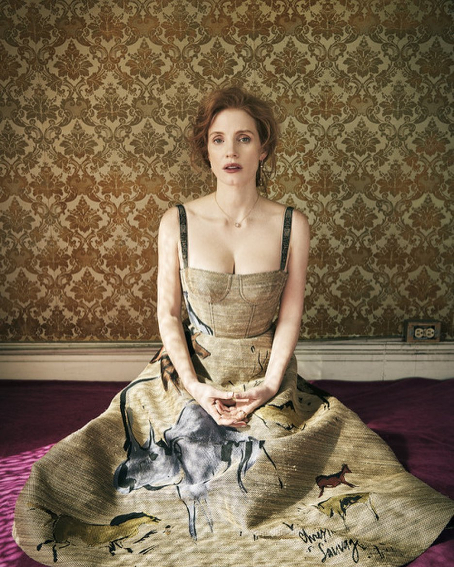 Jessica Chastain Hollywood actress 30