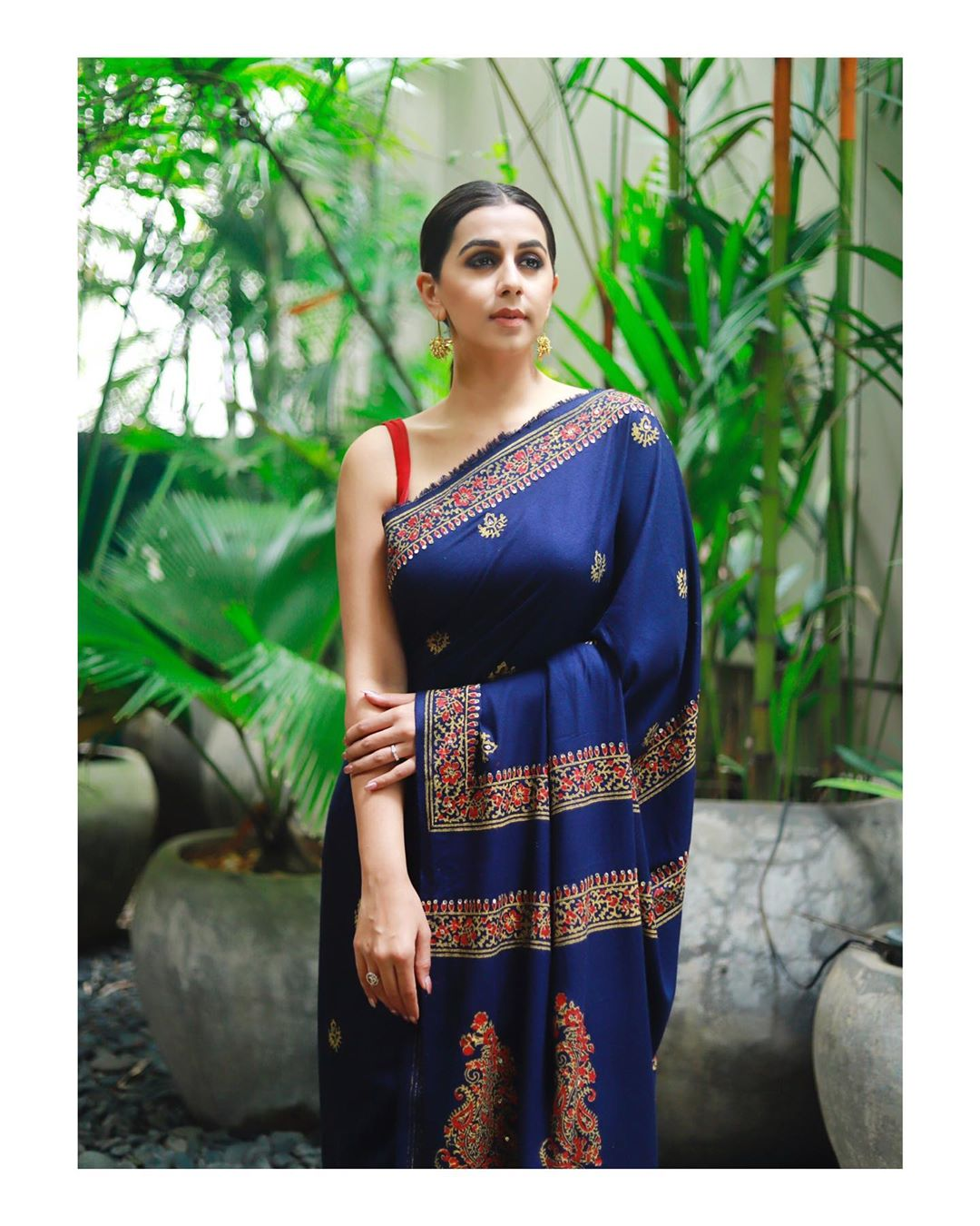 Nikki Galrani  south indian actress images in sari