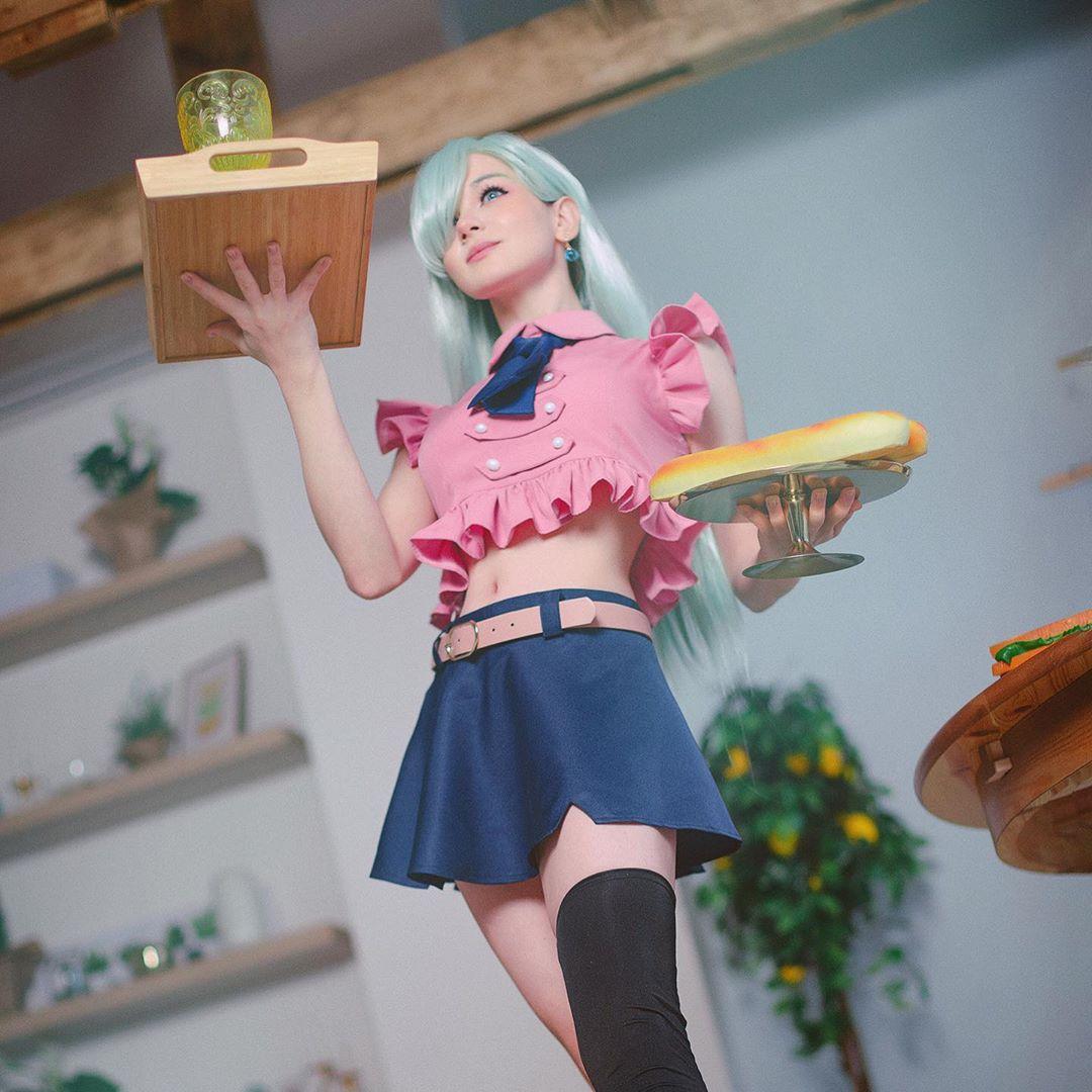 Elizabeth from Seven Deadly Sins cosplay by mk ays