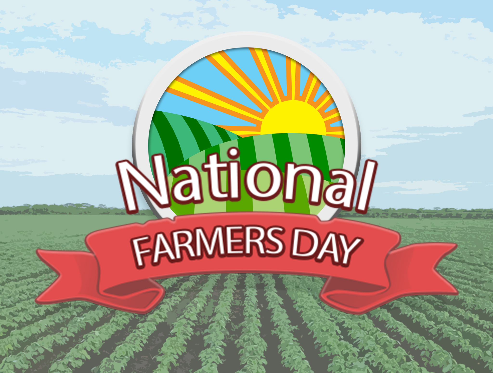farmer day images