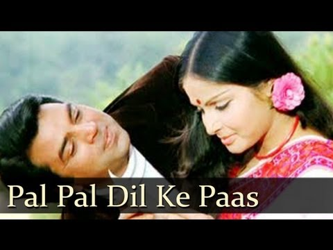 Pal Pal Dil Ke Paas Tum Rehti Ho Lyrics by Kishore Kumar