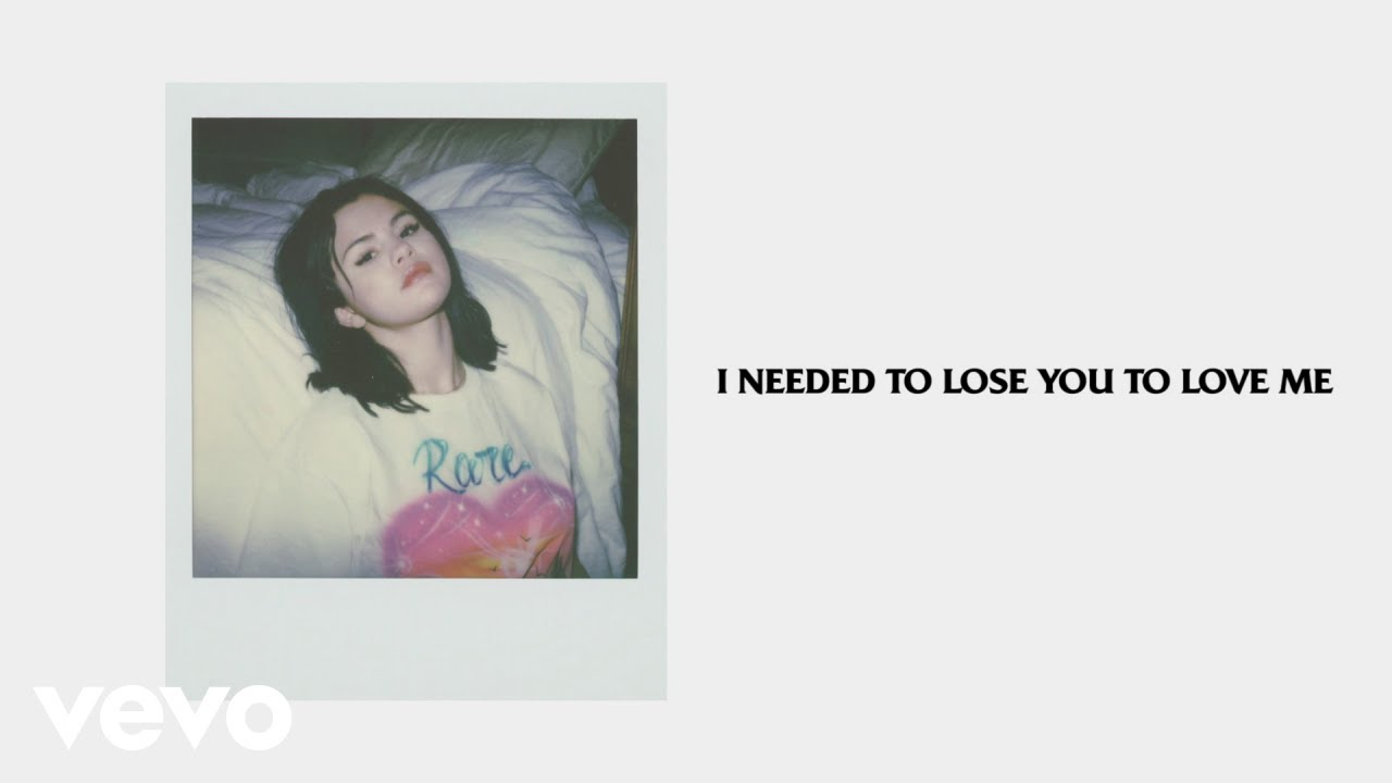 Lose You To Love Me Lyrics - Selena Gomez