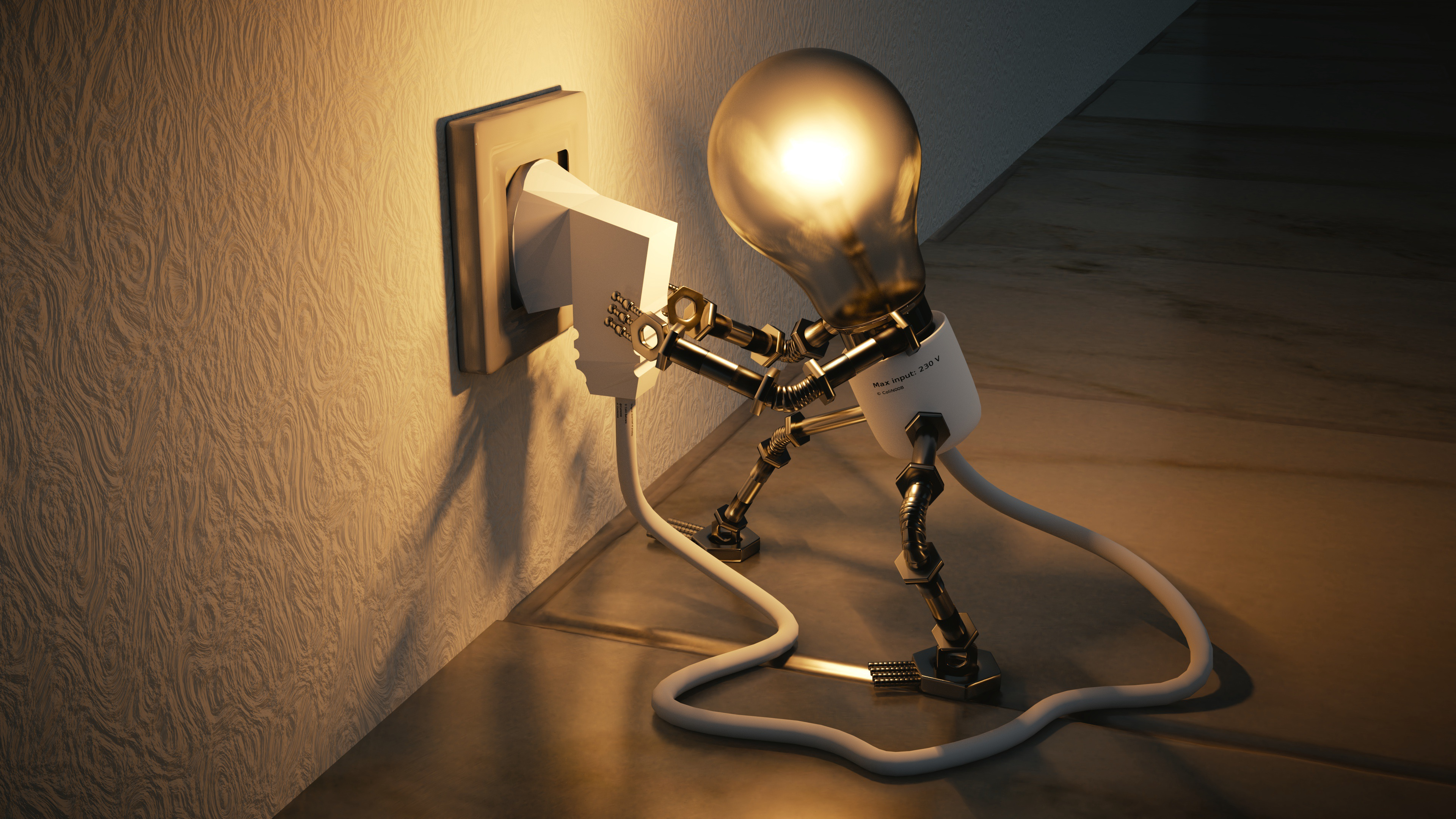 Lamp outlet idea electricity