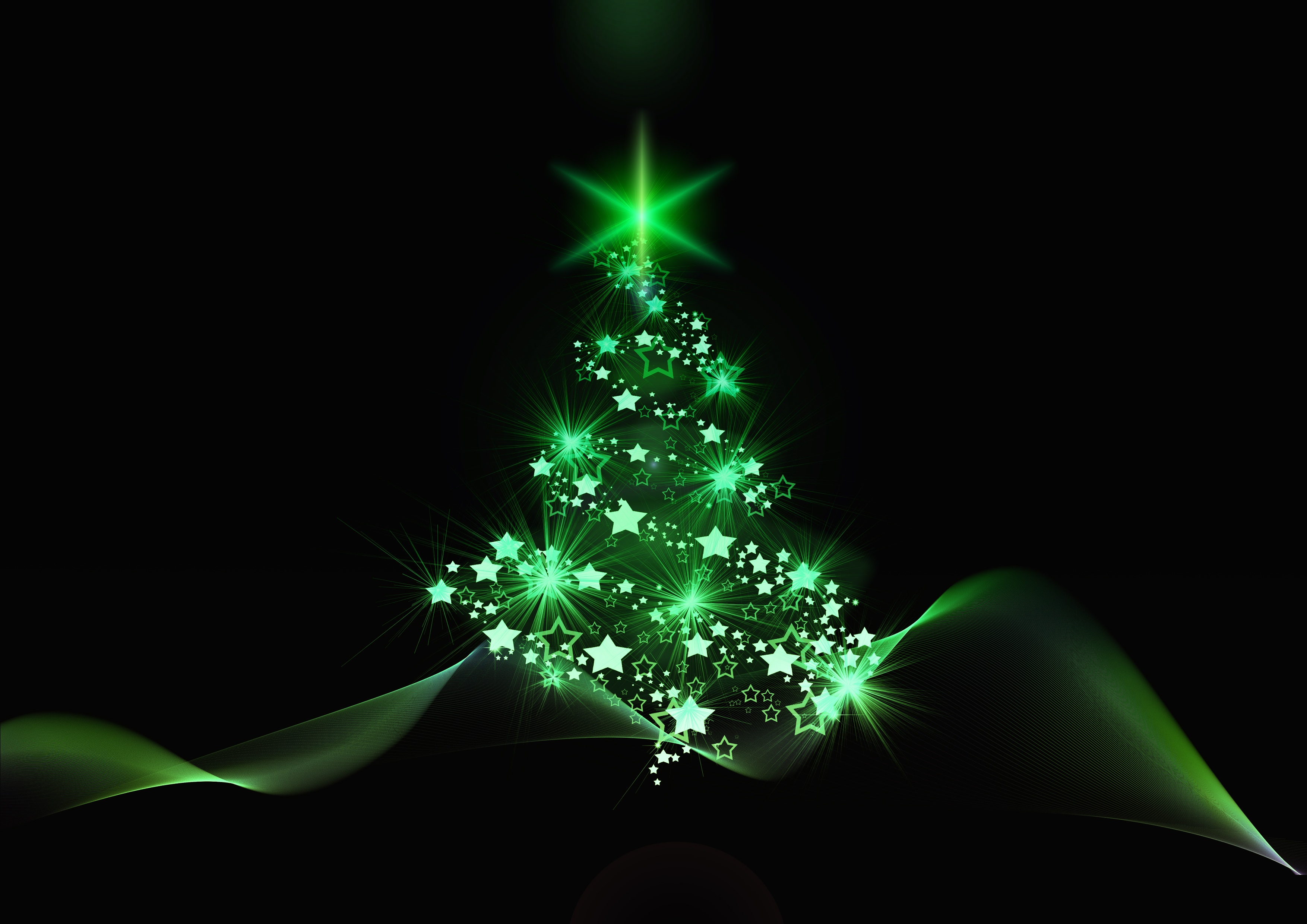 christmas tree christmas new year art
