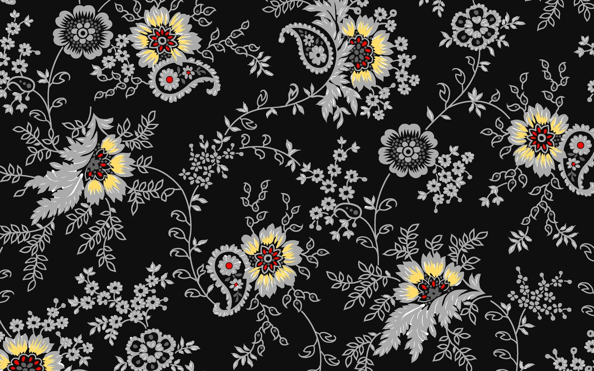 background flowers color pattern